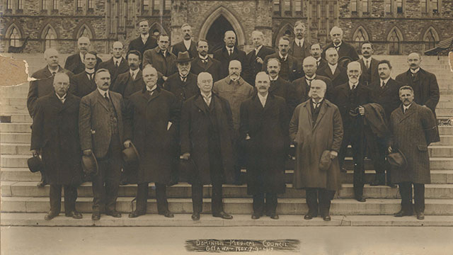 Le Dominion Medical Council of Canada, 1929