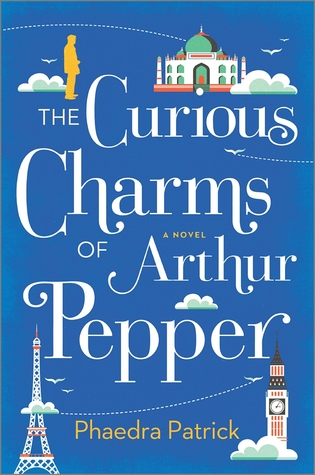 Book cover: The Curious Charms of Arthur Pepper