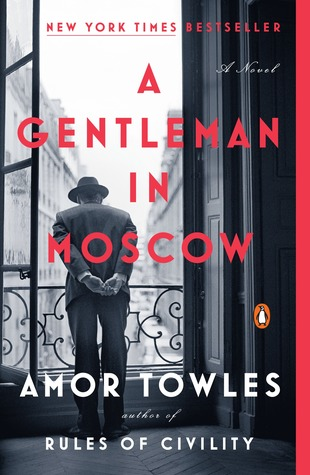 Book cover: A Gentleman in Moscow