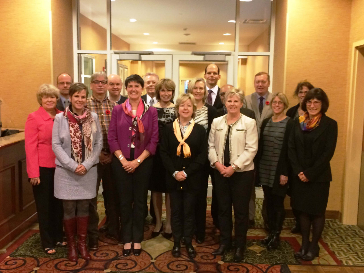 Dr. Topps with the MCC's National Assessment Central Coordinating Committee (NAC3), Ottawa 2016