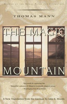 Book cover: The Magic Mountain