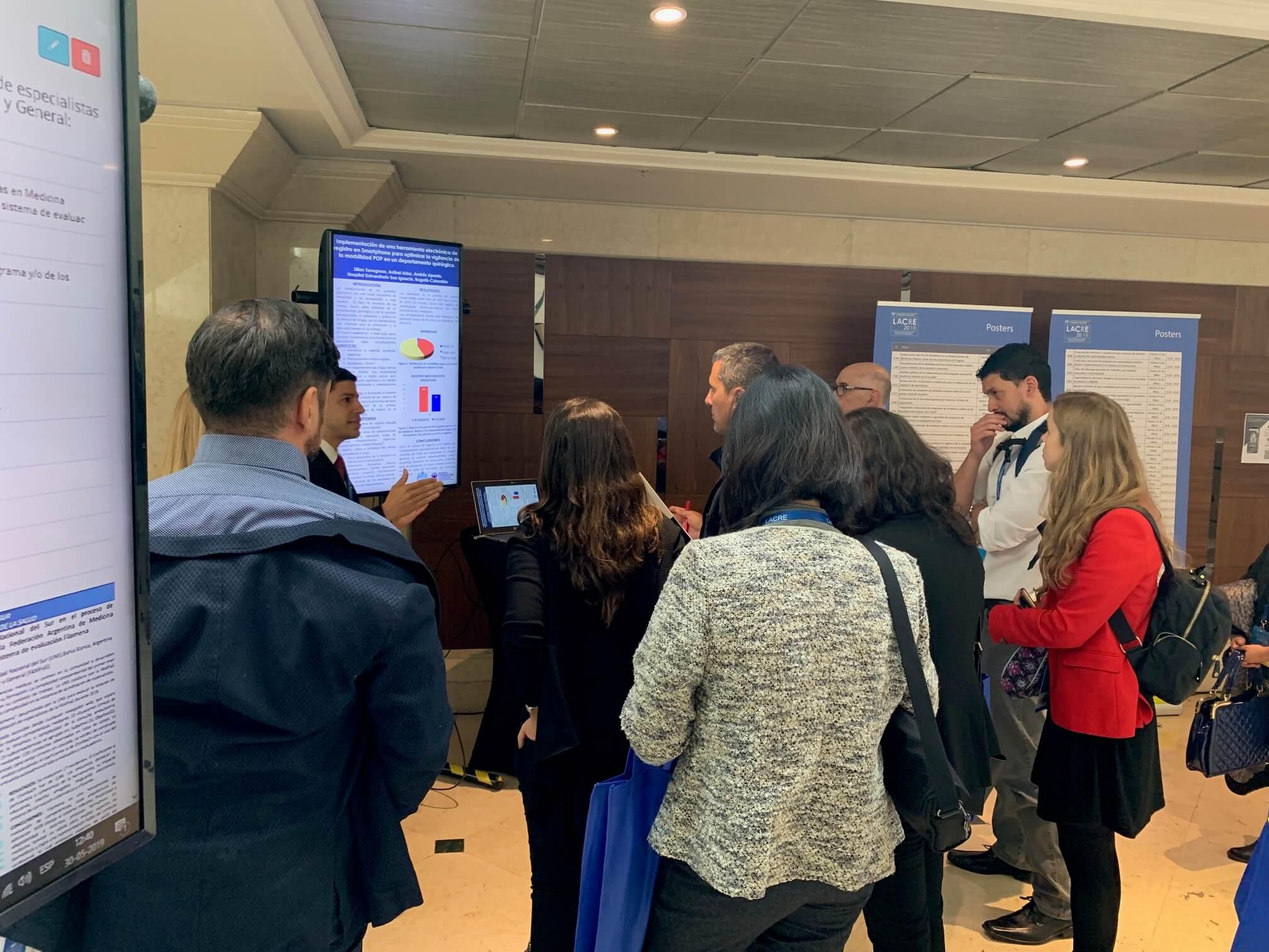 Participants à la Conférence latino-américaine sur la formation des résidents